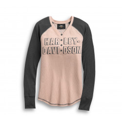 HENLEY-KNIT,COLORBLOCK